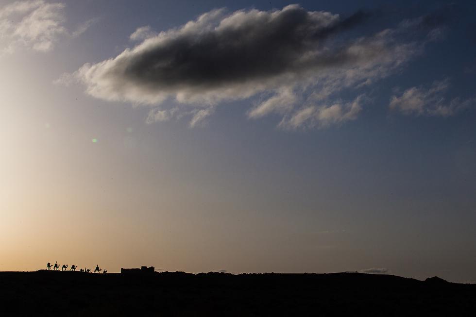 התחנה האחרונה. עבדת, ישראל (צילום: זיו שרצר, בית ספר שדה שדה-בוקר) (צילום: זיו שרצר, בית ספר שדה שדה-בוקר)