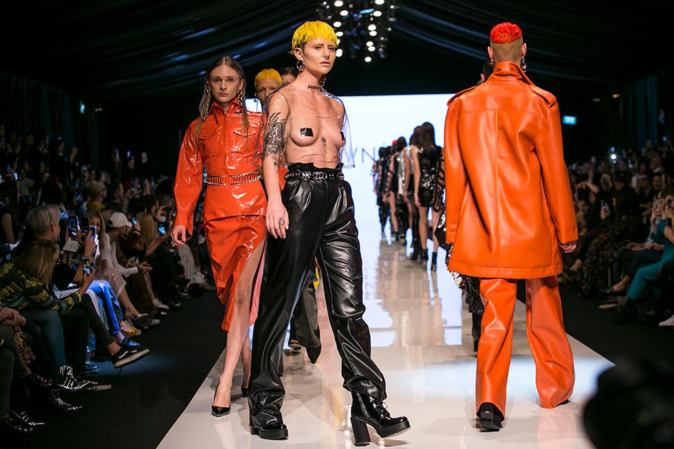 קולקציית ה-S&M של אלון ליבנה זכתה לסיקור באתרי האופנה בעולם (צילום: ענבל מרמרי)
