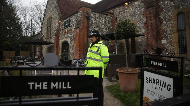 Паб The Mill, закрытый полицией. Фото: AFP