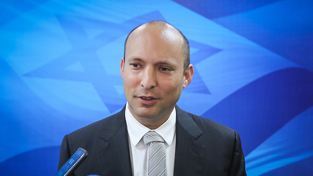 Bennett. 'We chose national responsibility' (Photo: Marc Israel Sellem)