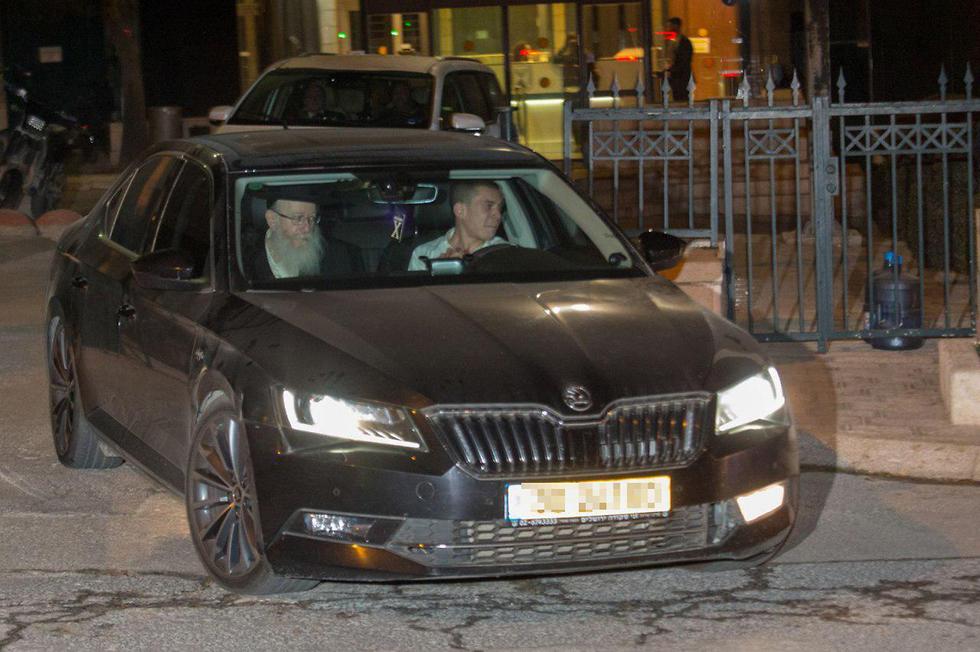 ליצמן בצאתו מהפגישה עם ראש הממשלה (צילום: הלל מאיר / TPS)