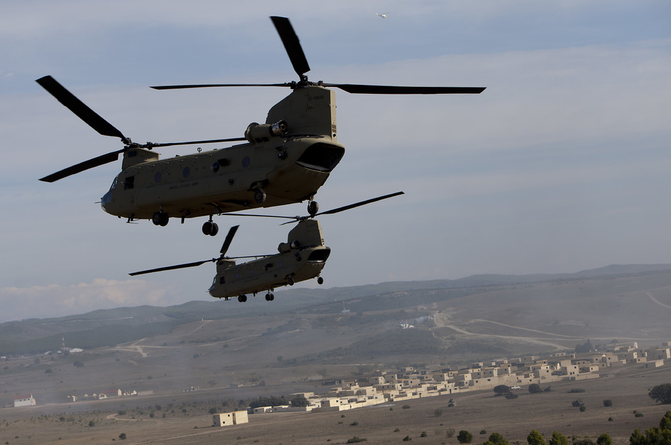 CH-47 Chinook. 'Can fly safely even at high speeds and at maximum payload'  (Photo: AP)