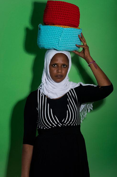 הסגנון של הסלים אינו אפריקאי, אלא מותאם לקהל הישראלי (צילום: מירי דוידוביץ)