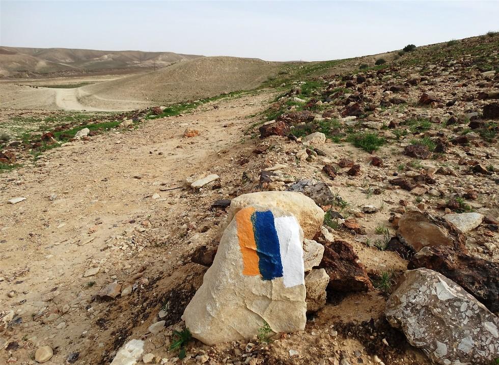 שביל ישראל בנגב (צילום: דב גרינבלט, החברה להגנת הטבע)