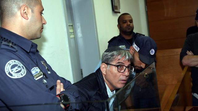 Meir Turgeman in court (Photo: Yariv Katz)