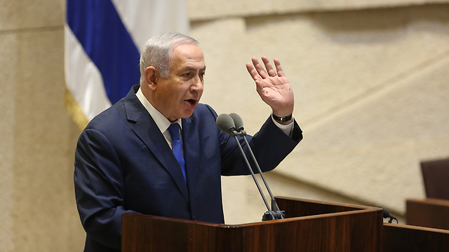 The more Netanyahu undermines the credibility of the law enforcement systems, the more he solidifies the legal process (Photo: Alex Kolomoisky)