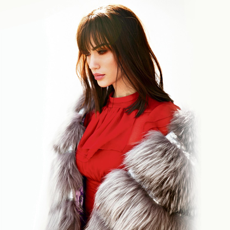 שמלה: No21 | מעיל: MSGM