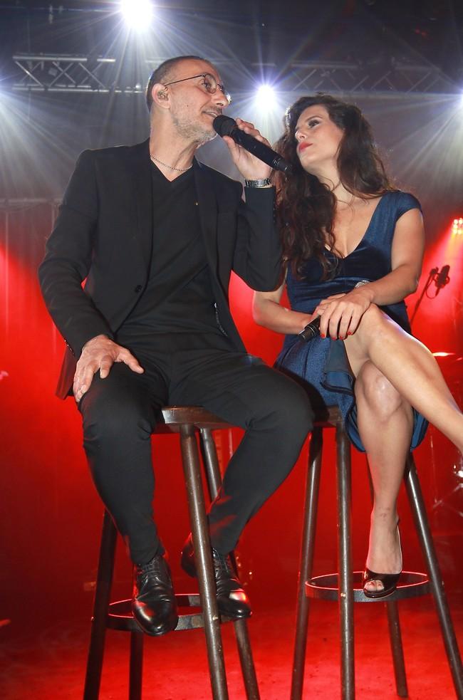 באו להופיע לקהל המשקיע. מירי מסיקה ושמעון בוסקילה (צילום: ענת מוסברג)