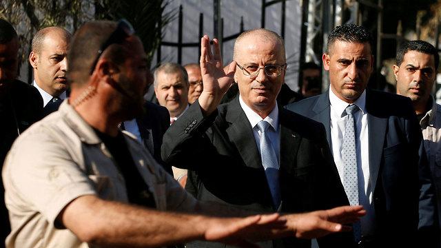 Palestinian Prime Minister Hamdallah (Photo: Reuters)