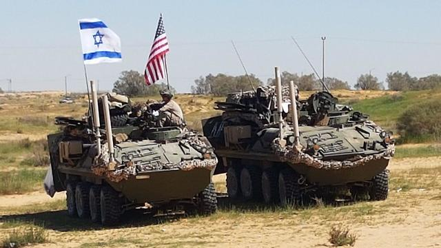 American and Israeli infantrymen began their portion of the 2018 Juniper Cobra exercise (Photo: Yoav Zitun)