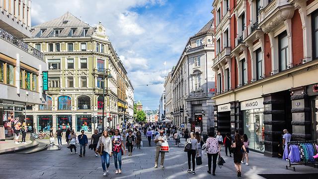 לברוח לנופש קריר: אוסלו, בירת נורבגיה (צילום: shutterstock) (צילום: shutterstock)