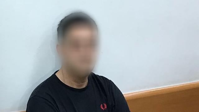 Подозреваемый в суде. Фото: Меир Турджеман