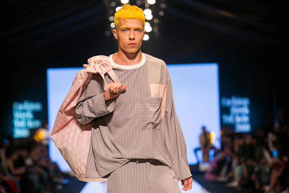 זו חליפה? זו פיג'מה? למי אכפת, זה נראה מצוין (צילום: ענבל מרמרי)