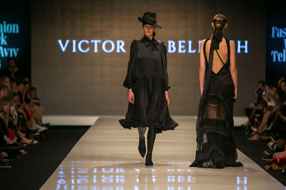 לכל אישה בכל מידה ובכל גיל מגיעה שמלה אחת לפחות של ויוי בלאיש בארון (צילום: ענבל מרמרי)