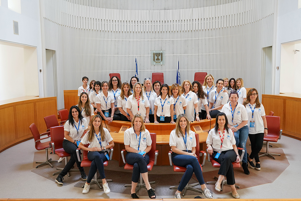 משלחת נשות fidf (צילום: שחר עזרן) (צילום: שחר עזרן)