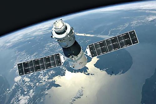 """תחנת החלל הסינית שתיפול בעוד מספר שבועות (צילום: יח""""צ)"""