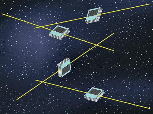 """הלוויינים ששוגרו ללא אישור (צילום: יח""""צ)"""