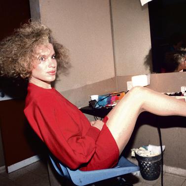 """כדוגמנית בשנות ה־80. """"הרווחתי מלא כסף ואז, בבת אחת, סגרתי לעצמי את הברז"""""""