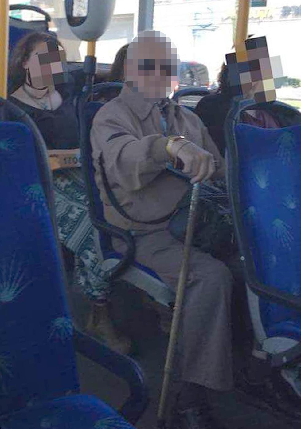 קשיש בן 71 אשר הטריד תושבת ירושלים פעמיים בחצי השנה האחרונה באוטובוס עירוני ()