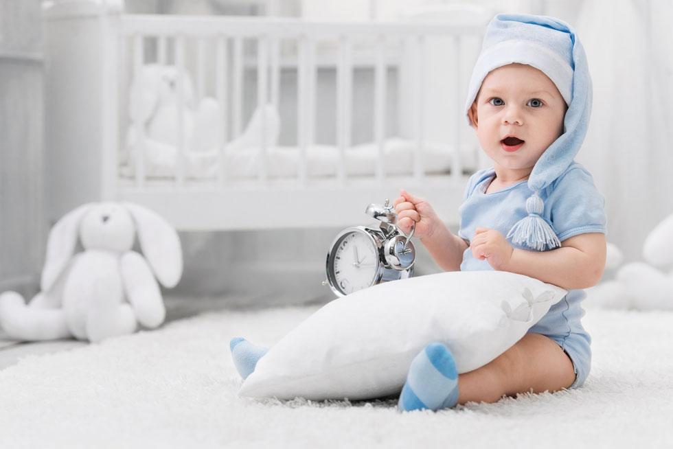 """""""ילדים בגילאי שנה עד חמש ירגישו יותר את הזזת השעון ויצטרכו זמן הסתגלות"""" (צילום: Shutterstock)"""