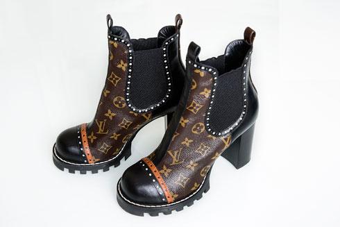 מארונה של רוזנבלום: נעליים של לואי ויטון (צילום: ענבל מרמרי)