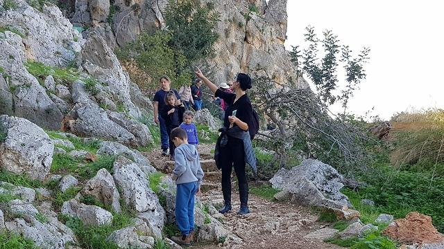נחל מערות (צילום: יעל לרנר)