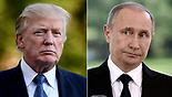 Trump (L) and Putin