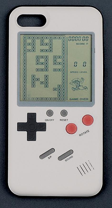 """כיסוי אייפון עם משחק גיימבוי (צילום: יח""""צ)"""