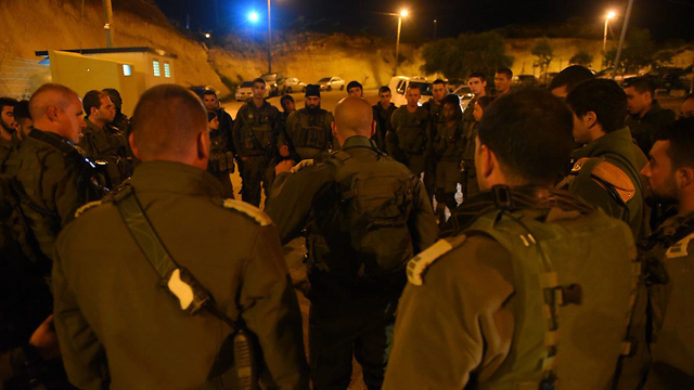 IDF operations in Barta'a overnight (Photo: IDF Spokesman's Office)