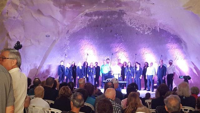 Концерт в пещере. Фото: Томер Сарагусти, Управление парков