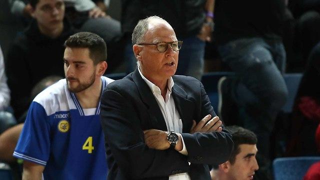 בראד גרינברג במכבי אשדוד (צילום: ראובן שוורץ)
