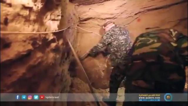 Hamas' tunnel digging unit. Every attack weakens the organization