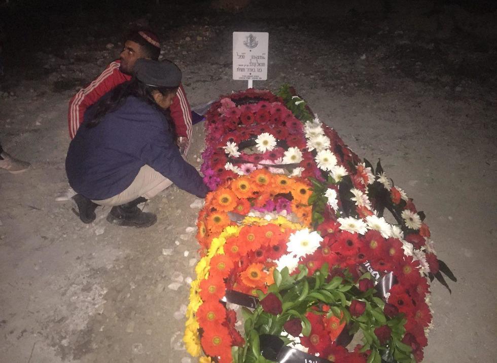 Sergeant Netanel Kahalani laid to rest (Photo: Roi Rubinstein)
