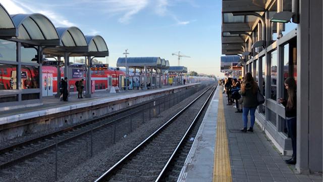 תחנת רכבת ישראל (צילום: דוד סולומונוב)