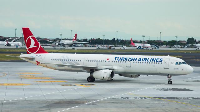מטוס של חברת טורקיש איירליינס (צילום: שאטרסטוק)