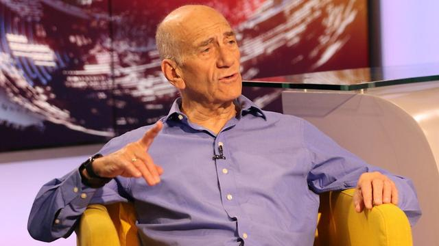 Olmert is convinced that after Rabin was murdered, his peace initiative was murdered for the same reason (Photo: Avi Moalem)