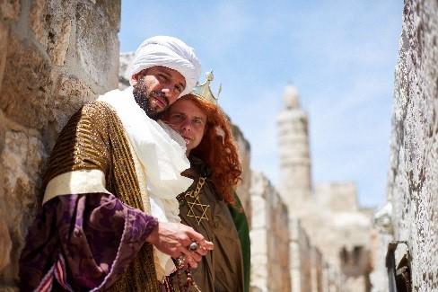 טרק תיאטרלי על חומות ירושלים  (יעל הרמן )