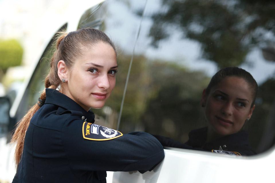 Полицейская Терк. Фото: Абигайль Узи