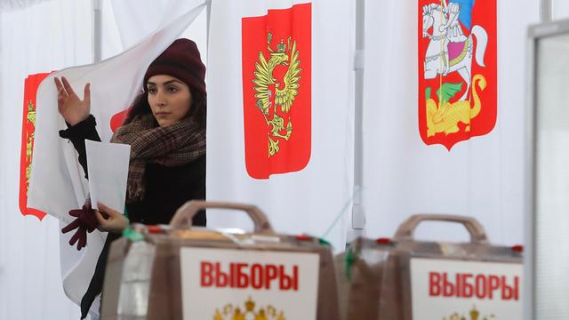בחירות לנשיאות ברוסיה (צילום: רויטרס)