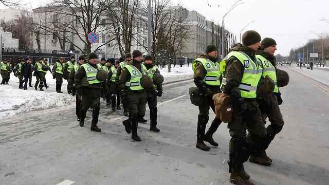 בחירות לנשיאות ברוסיה (צילום: AP)