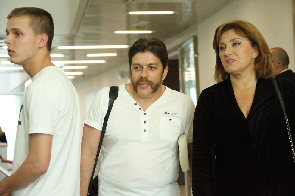 דוד גודובסקי ופאינה קירשנבאום בבית משפט מחוזי בתל אביב (צילום: מוטי קמחי)