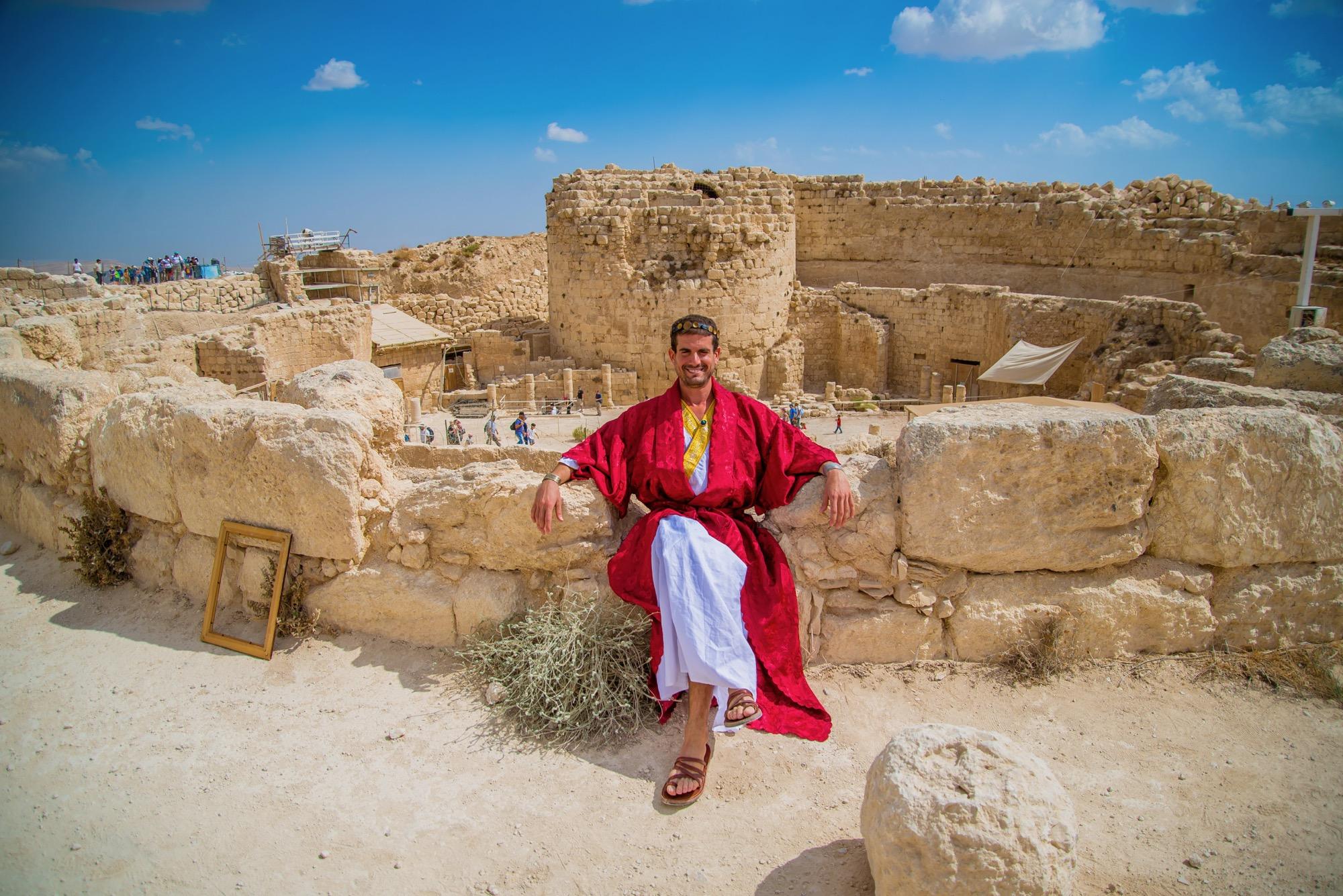 מפגש עם המלך הורדוס בהרודיון (מנו גרישפן)