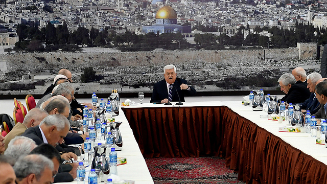 In his distress, Abbas doesn't mind using undiplomatic language  (Photo: Reuters)