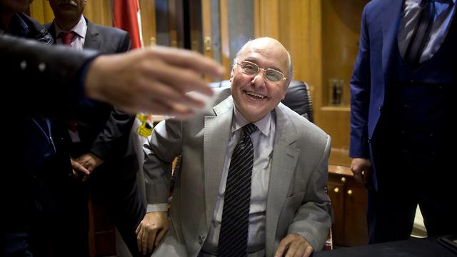 מוסא מוסטפה מוסא מועמד לנשיאות מצרים (צילום: AP)