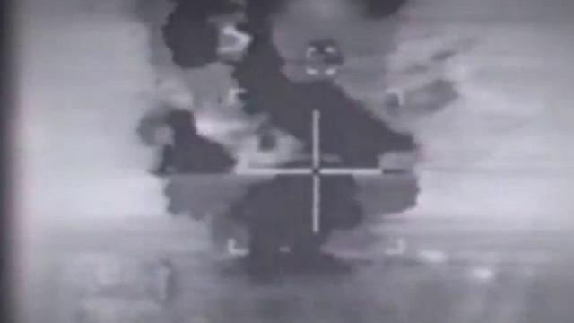 Bombing of the Syrian nuclear reactor in Deir ez-Zor (Photo: IDF Spokesperson's Unit)