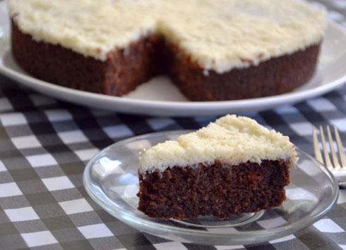 עוגת שוקולד וקוקוס לפסח (צילום: אפרת סיאצ'י)