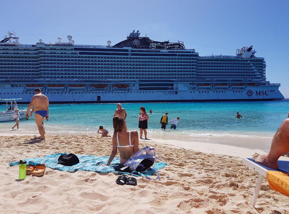 כך נראית אוניית Seaside מהחוף (צילום: אסף קוזין)