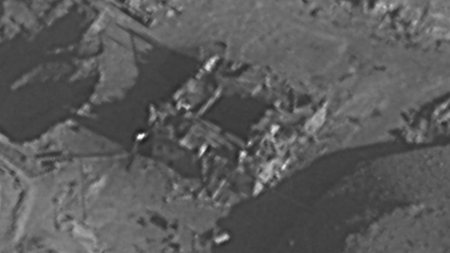 The Syrian reactor in Deir ez-Zor (Photo: IDF Spokesperson's Unit)