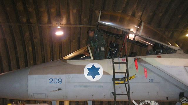 Самолет ВВС ЦАХАЛа, участвовавший в атаке в Сирии. Фото: пресс-служба ЦАХАЛа