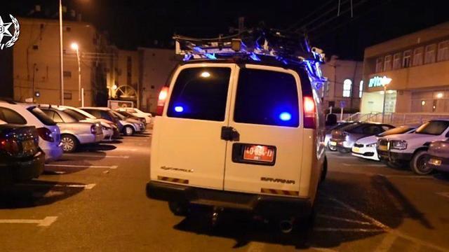 סוכן סמוי עצר 40 סוחרי סמים (צילום: דוברות המשטרה)